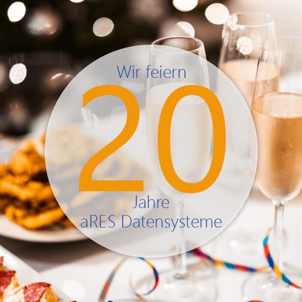 aRES Datensysteme 20-jähriges Jubiläum