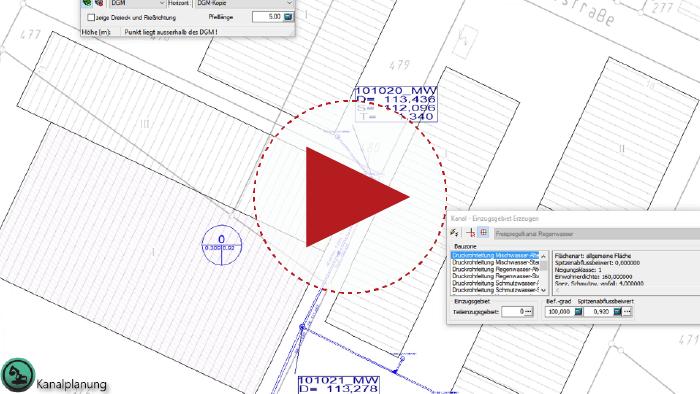 Video: Einzugsgebiete erzeugen und richtige Kontur wählen