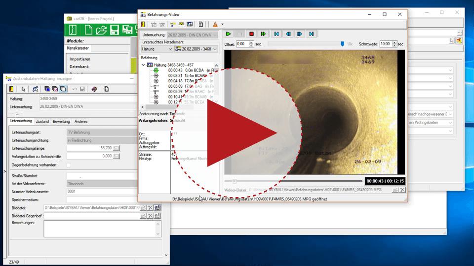 Video: ISYBAU-Viewer, kostenloser Kanaldaten-Betrachter von aRES Datensysteme